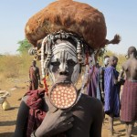 Mursi girl who gave me her lip plate