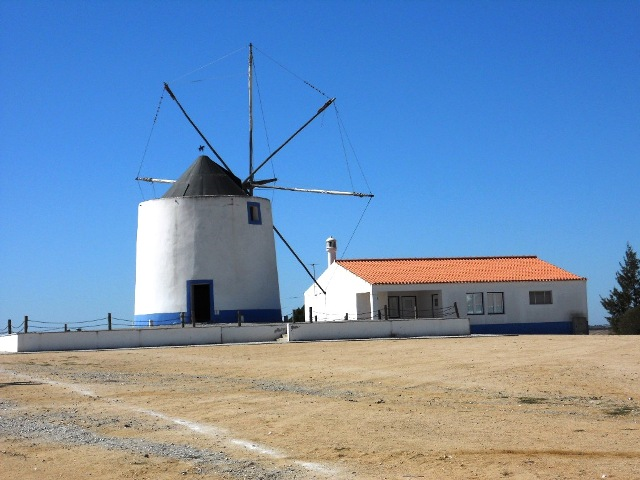 Windmill in Castro Verde