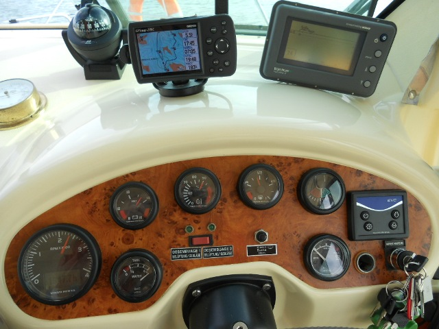 Houseboat dashboard