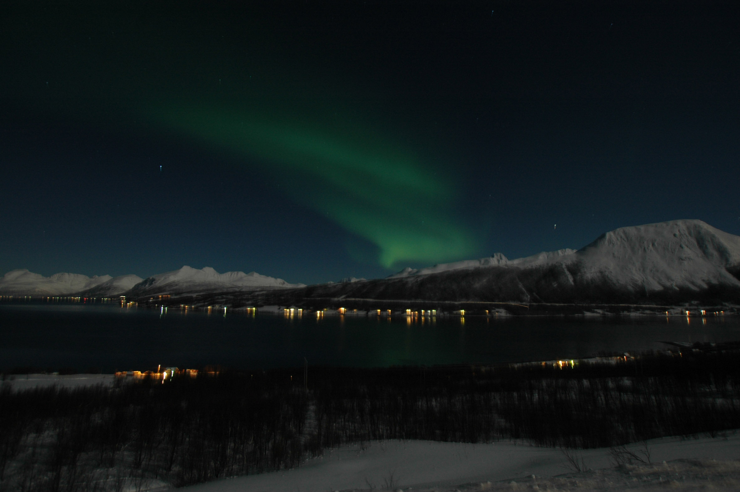 Rachel's View over Tromso
