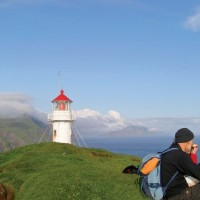 Walking in the Faroes