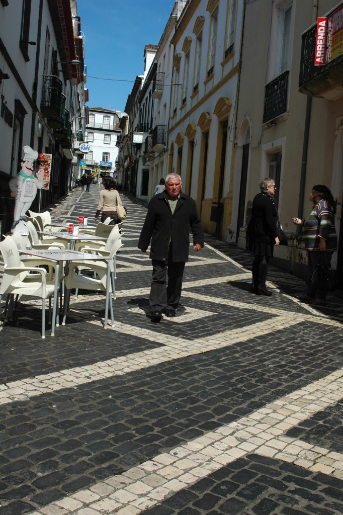 Low_4 sao miguel cobbled streets. Copyright Heidi Fuller-love2014