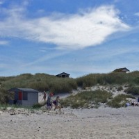 Falsterbo peninsula beach huts 1