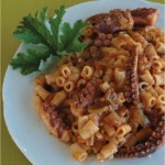 August's Sunvil Supper Club: Xtapodi Kofto (Octopus Pasta)