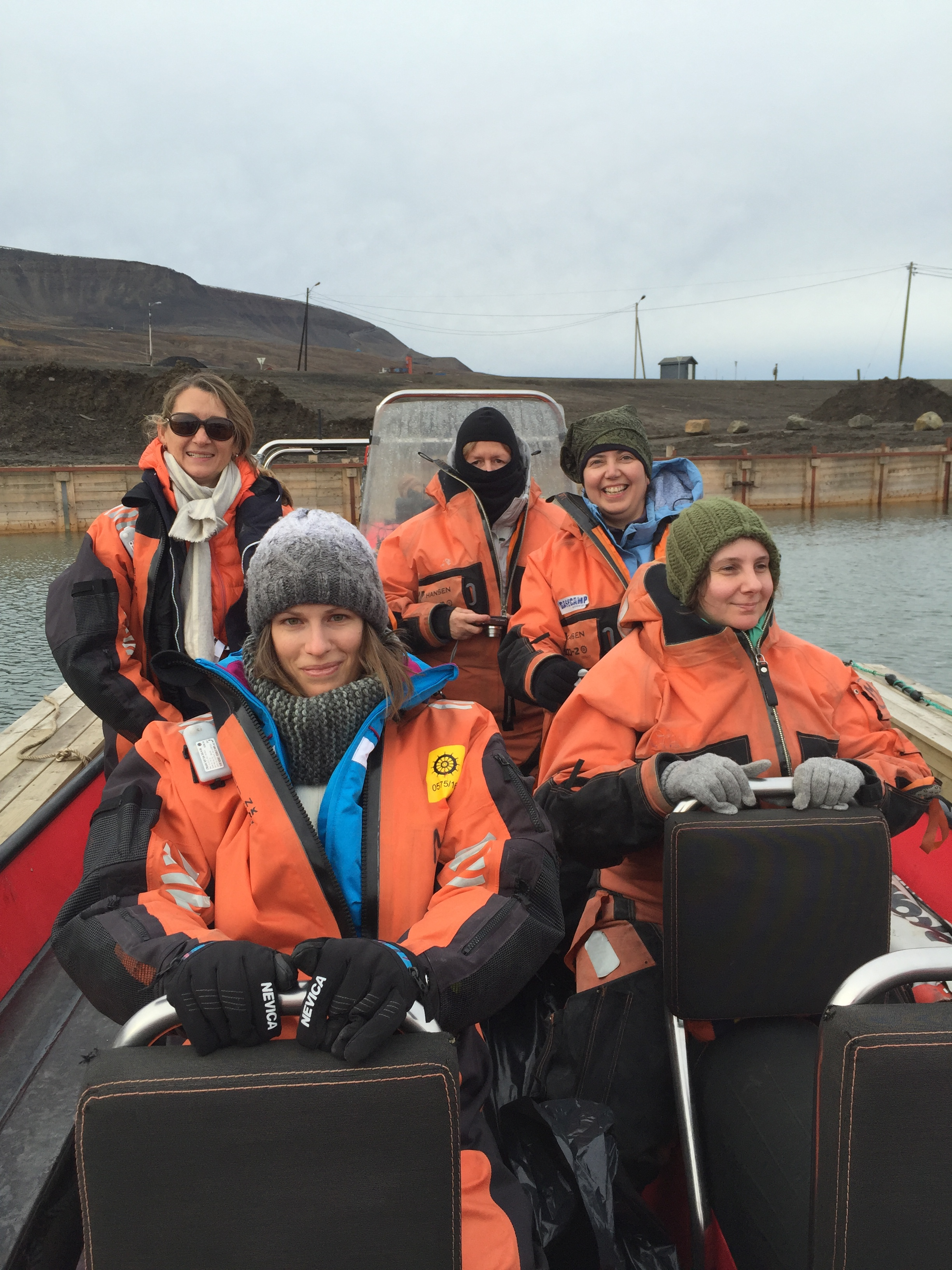 Rib boat trip from Longyearbyen to Isfjord Radio