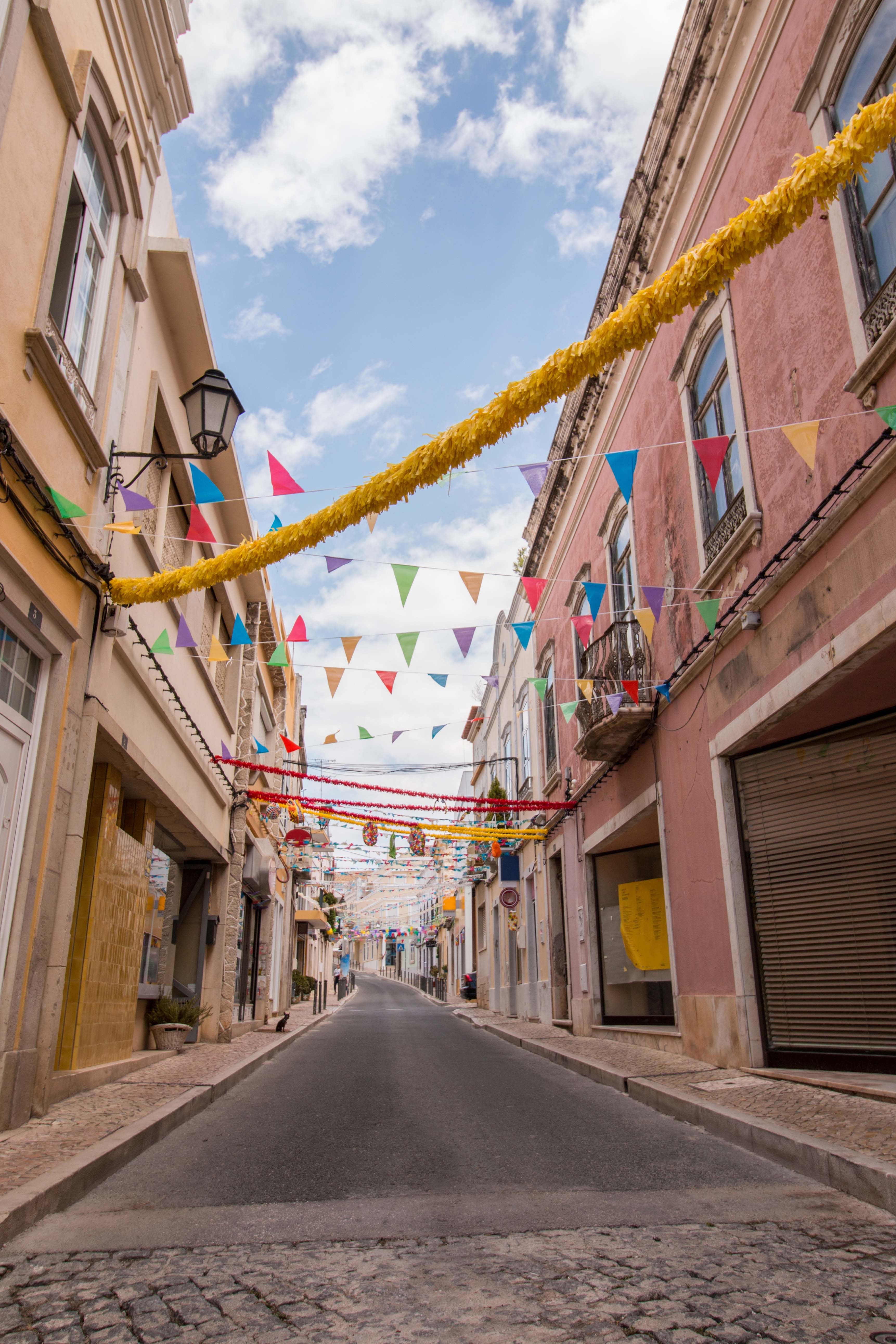 The streets of Loule