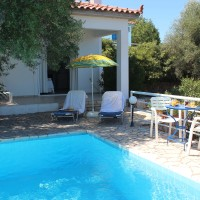 Messinia Erato Villa, one bedroom villa with extensive terrace.